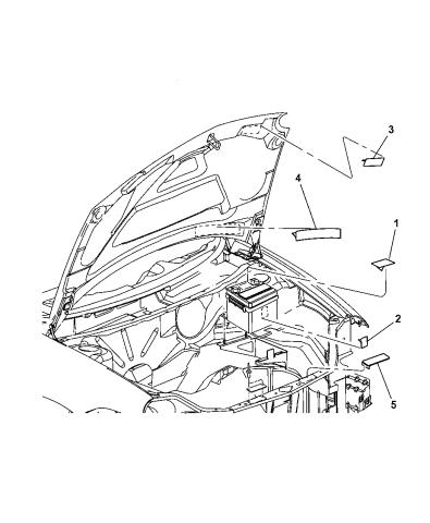 5085860AA - Genuine Mopar LABEL-EMISSIONMopar Parts Giant
