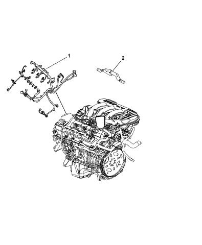 2010 Dodge Journey Wiring - Powertrain - Mopar Parts GiantMopar Parts Giant