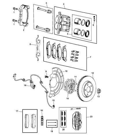 Genuine Mopar Brake Rotor Magneti Marelli 2AMV5012AD