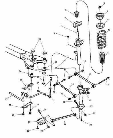 4782274AB - Genuine Mopar LINK-TRAILINGMopar Parts Giant