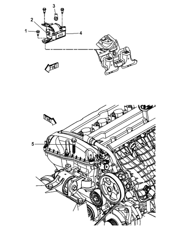 [DIAGRAM_3US]  2013 Jeep Compass Engine Mounting Right Side - Mopar Parts Giant | 2013 Jeep Compass Engine Diagram |  | Mopar Parts Giant