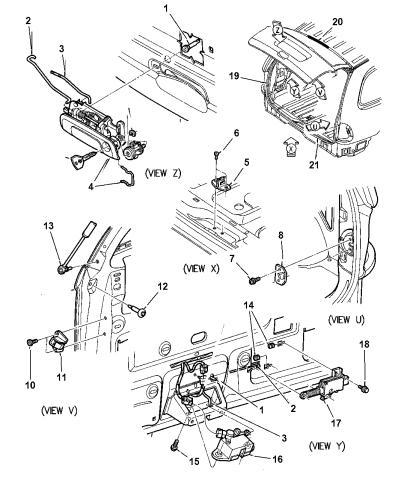 2000 dodge caravan parts diagram  wiring diagram load