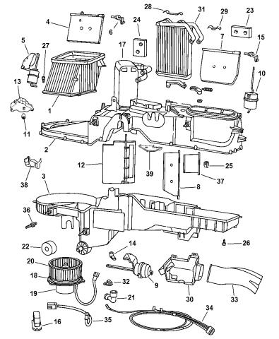 5011167AA - Genuine Mopar EVAPORATOR-AIR CONDITIONINGMopar Parts Giant