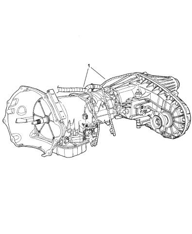 Wiring - Transmission - 2006 Dodge Ram 3500