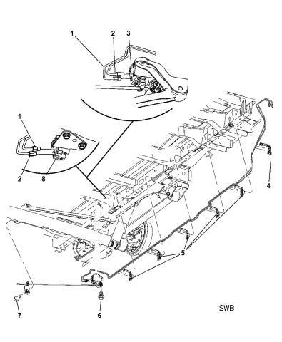 Genuine Chrysler 4779428AB Brake Valve