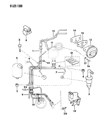 33002298 Genuine Mopar Solenoid Vacuum Switch And Bracket As