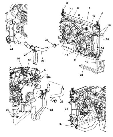 5137692AA - Genuine Mopar RADIATOR-ENGINE COOLINGMopar Parts Giant