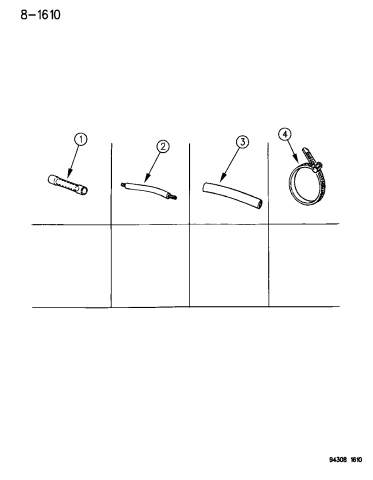 1994 dodge dakota wiring harness repair crimp pkg.-fusible link pkg.-heat  shrink tube  mopar parts giant