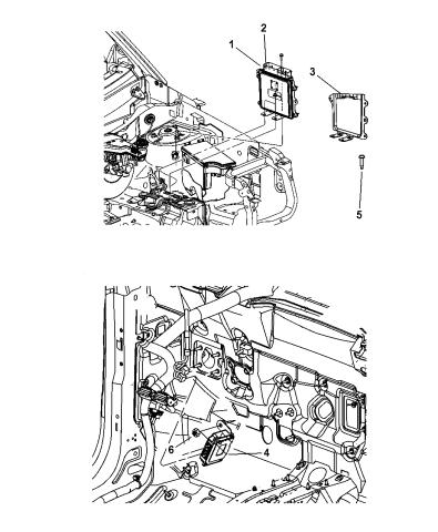 2010 Jeep Patriot Modules, Engine Compartment - Mopar Parts GiantMopar Parts Giant