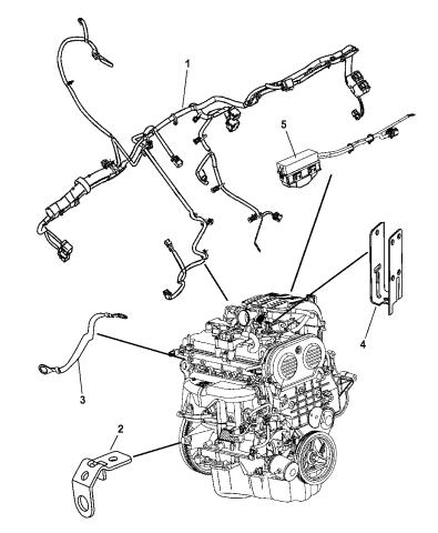 56048622AD - Genuine Dodge WIRING-JUMPERMopar Parts Giant