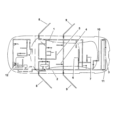 wiring - body & accessories - 1997 chrysler lhs  mopar parts giant