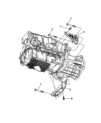 [EQHS_1162]  2005 Dodge Neon Strut - Structural Collar & Power Bend of Engine Mounting | 2005 Dodge Neon Engine Parts Diagram |  | Mopar Parts Giant