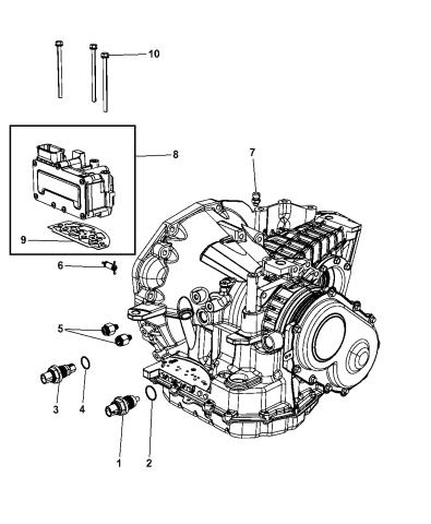 Transmission Input/Output Sensor Vehicle Speed Sensor SC226 ...