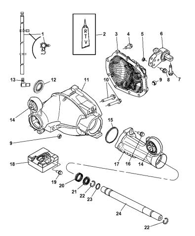 52111969AD - Genuine Mopar SHAFT-AXLEMopar Parts Giant
