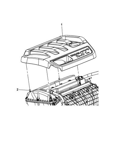 2009 Dodge Avenger Engine Cover & Related PartsMopar Parts Giant