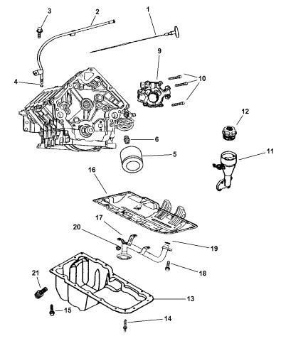 53021767AB - Genuine Mopar INDICATOR-ENGINE OIL LEVELMopar Parts Giant
