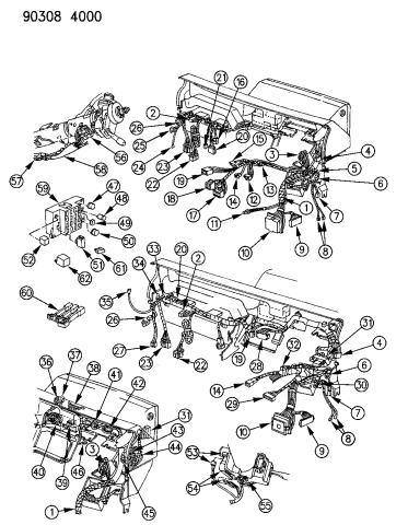 1993 Dodge Dakota Wiring Harness General Wiring Diagrams Reserve Reserve Leinivbc It