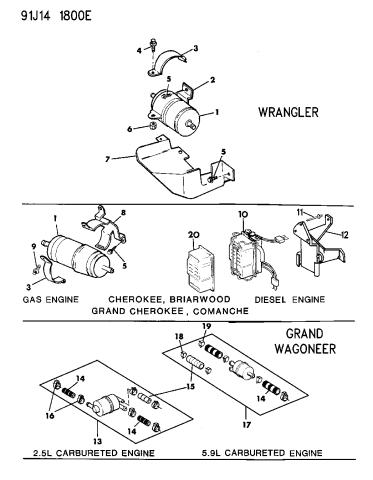 [SCHEMATICS_4FD]  83500998 - Genuine Mopar FILTER-FUEL IN-LINE W/FUEL RETURN | 1992 Jeep Wrangler Fuel Filter |  | Mopar Parts Giant