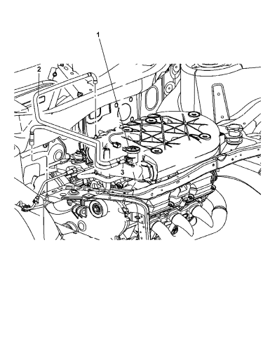 2006 Chrysler Pacifica Solenoid Vacuum Harness