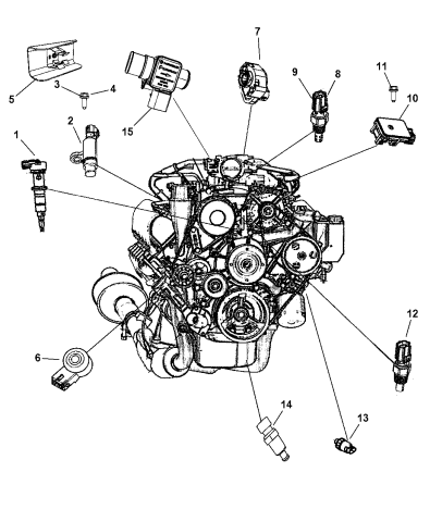EVGATSAUTO Sensor de presi/ón de neum/áticos Sensor de Sistema de Control de presi/ón de neum/áticos TPMS de Coche 434 MHz para Dodge Ram 1500 2500 3500 2014 2015 2016