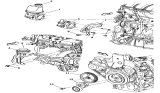 Related Parts for Chrysler Power Steering Reservoir - 5272351AA