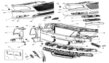 Related Parts for Chrysler 300 Axle Beam - 68142203AB