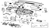 Related Parts for Chrysler Ashtray - 55116979AB