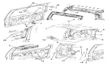 Related Parts for Jeep Liberty Lift Support - 57010181AB