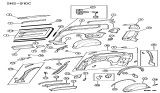 Related Parts for Dodge Wheelhouse - 4716895