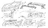 Related Parts for Jeep Liberty Lift Support - 57010050AC