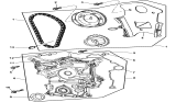 Related Parts for Dodge Ram 1500 Timing Cover - 53021323AJ