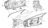 Related Parts for Chrysler Window Regulator - 4894270AC