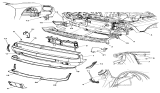 Related Parts for Dodge Challenger Air Duct - 68051390AA