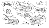 Related Parts for Chrysler PT Cruiser Door Handle - 4717164