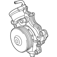 Mopar Water Pump - 68211202AB