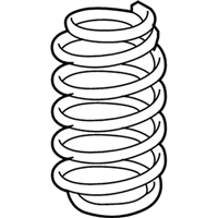 Chrysler Sebring Coil Springs - 5272665AC