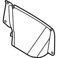 Mopar 5065765AB COVER-DECK LID LATCH