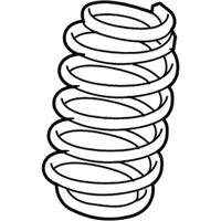 Chrysler Sebring Coil Springs - 5272623AC