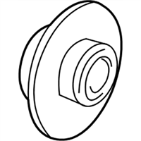 Chrysler Cirrus Wheel Bearing - 4593462AA