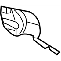 Mopar 5065661AF COVER-DECK LID LATCH