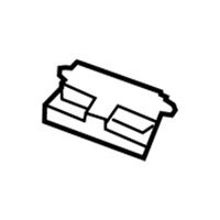 68050497aa Genuine Mopar Module Sliding Door