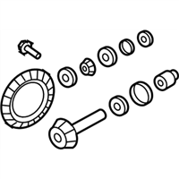Mopar 5143812AB GEAR KIT-RING AND PINION