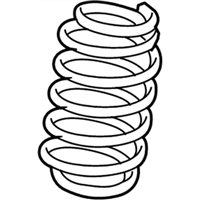 Chrysler Sebring Coil Springs - 4766060AB