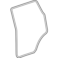 Mopar 5116400AF WEATHERSTRIP-REAR DOOR BODY MOUNTED