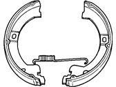 Chrysler Town & Country Parking Brake Shoe - 4882576