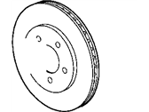 Mopar Brake Disc - 4779712AA