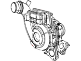 Chrysler 300 Turbocharger - 68148161AA