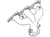 Chrysler Cirrus Exhaust Manifold - MD323182