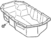 Chrysler Voyager Oil Pan - 4694525AB