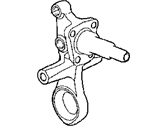 Dodge Neon Steering Knuckle - 5272245